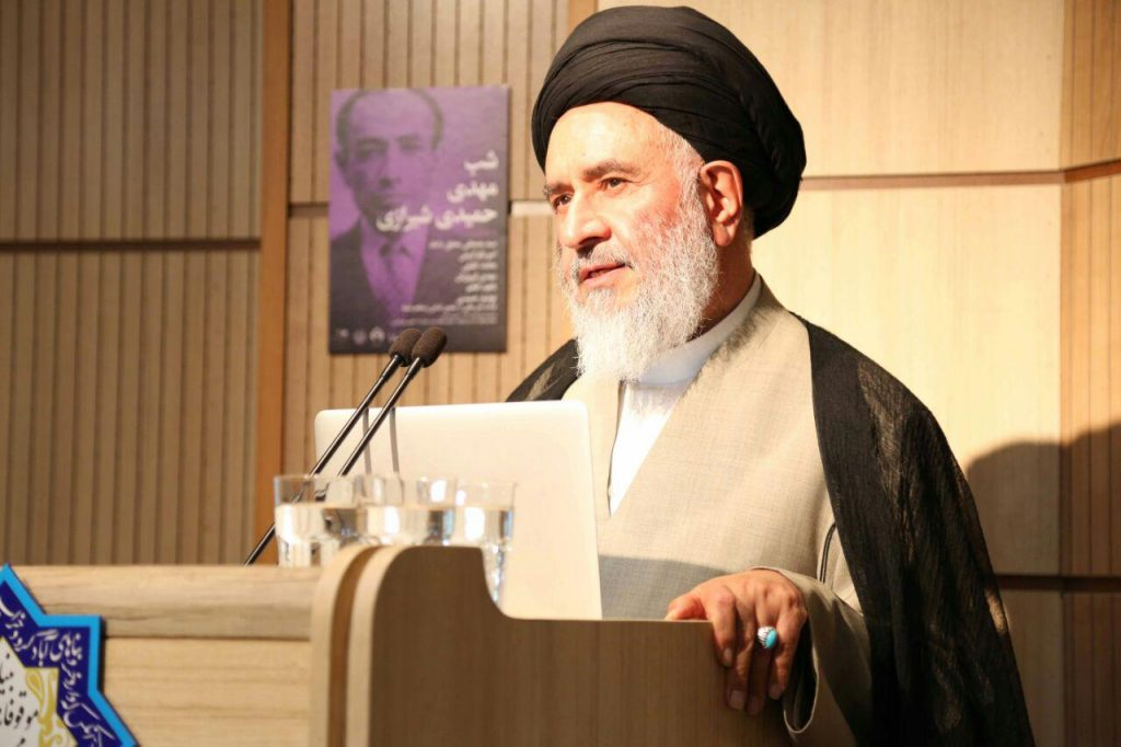 دکتر سید مصطفی محقق داماد از دوران شاگردی نزد دکتر حمیدی شیرازی سخن گفت