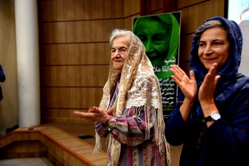 مهر انگیز ملاح و نسرین ابوالحسنی خواهر و دختر مه لقا ملاح