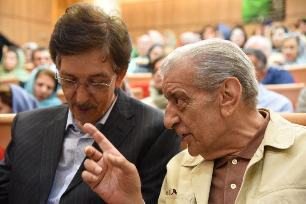 دکتر عزت الله فولادوند و دکتر مجتهد شبستری