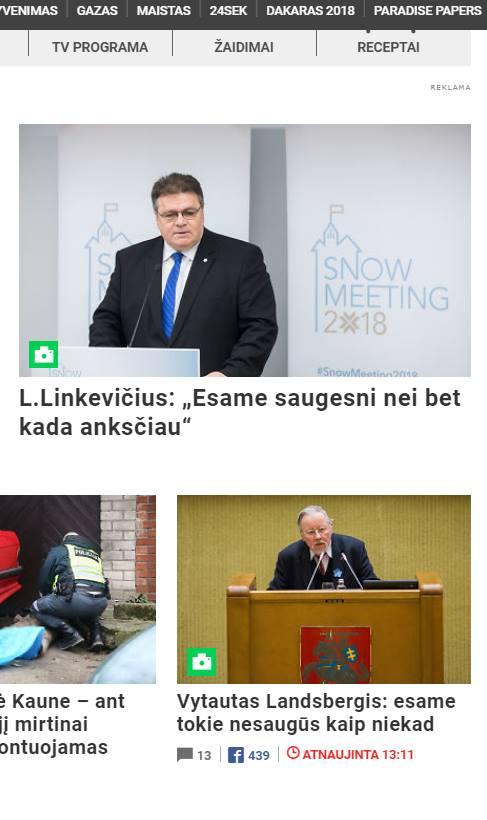 Linkevičius ir landsbergis