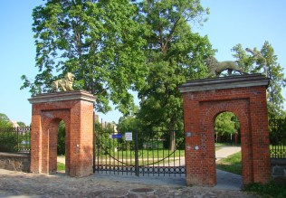 Vartai tvora Rietavas Oginskių