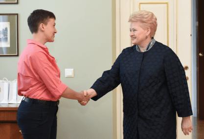 Savčenko Grybauskaitė..