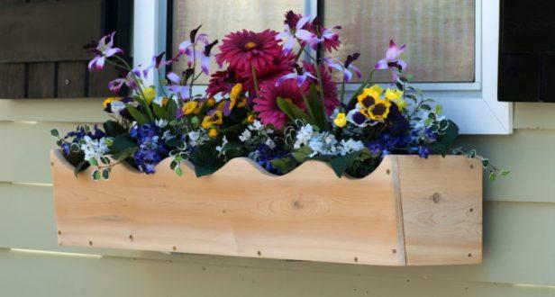 Wood Window Boxes