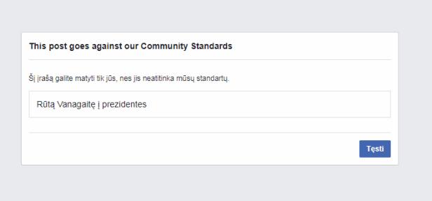 Facebooko durnystės skundimai.PNG