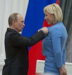 Natalija Putinas sega