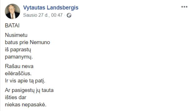 Vytautas Landsbergis Batai