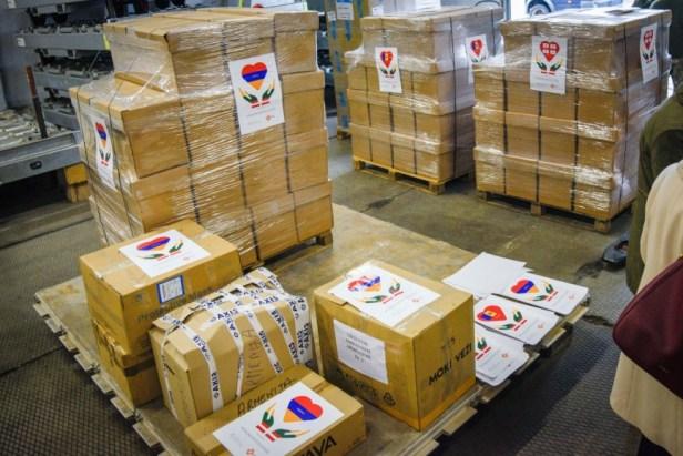 Humanitarinė pagalba Armėnijai, Moldovai Gruzijai