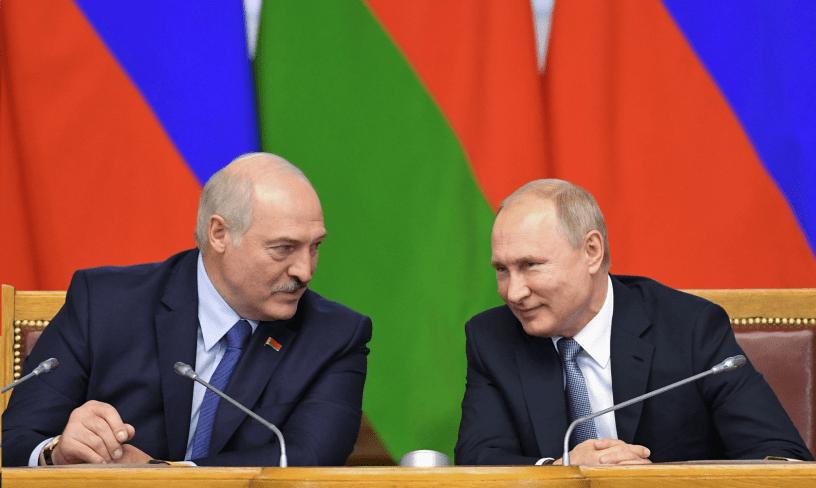 Aleksandras Lukašenka Vladimiras Putinas Sočis