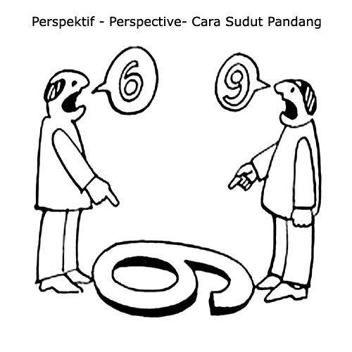 memecahkan masalah dengan sudut pandang yang berbeda