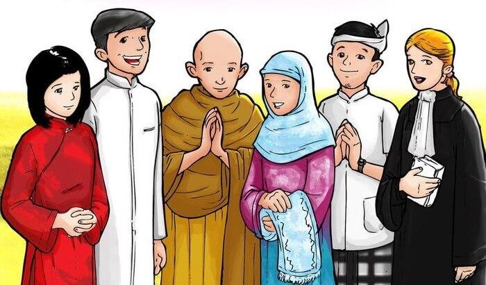 keragaman agama indonesia