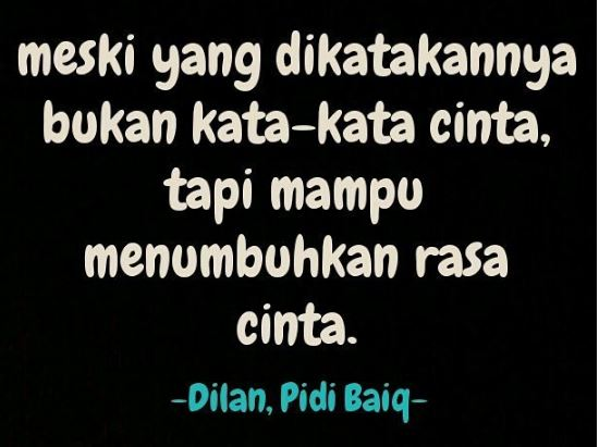 novel dilan karya pidi baiq