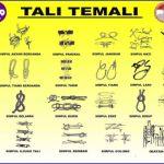 21 Tali Temali dalam Pramuka, Simpul, Ikatan, Jerat, Pionering Lengkap