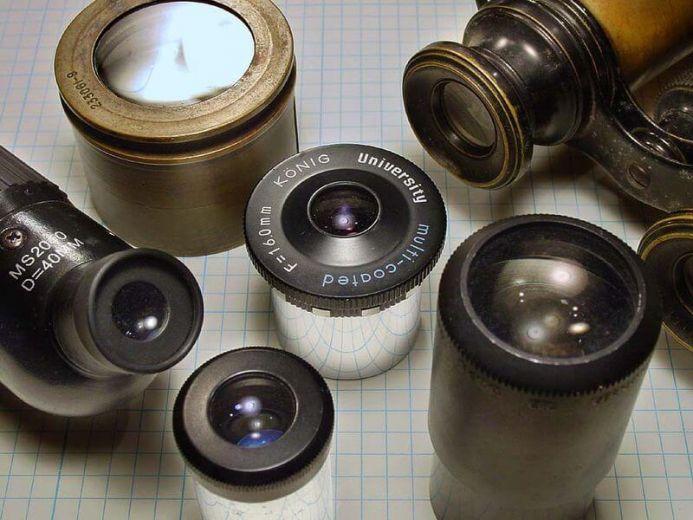 Bagian bagian mikroskop beserta fungsi dan gambarnya bukubiruku