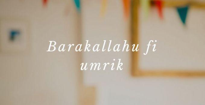 ucapan selamt ulang tahun islami