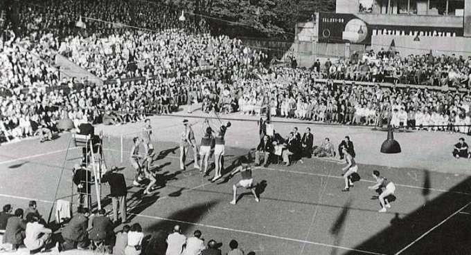 sejarah permainan bola voli