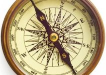 Cara menentukan arah mata angin