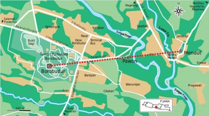 Letak Candi Borobudur