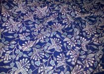 Gambar motif batik Bunga
