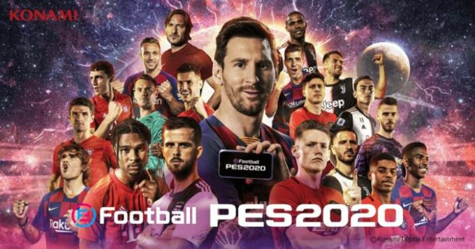 game androin online eFootball PES 2020