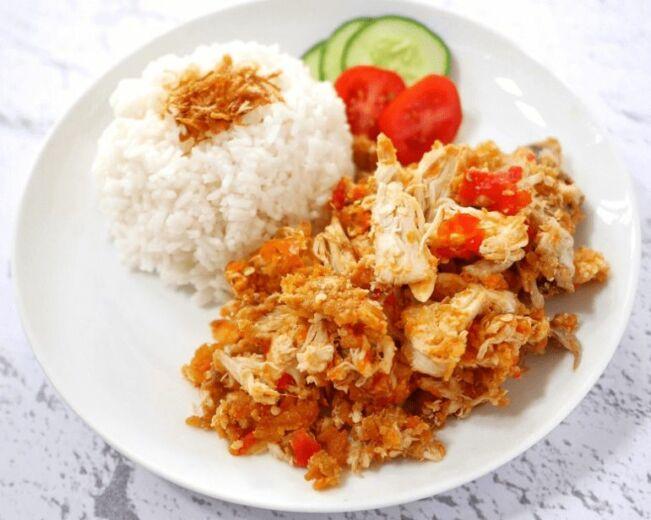 Ayam geprek crispy resep rumahan.