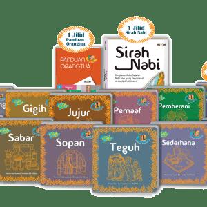Seri Teladan Rasulullah Buku Anak Best Seller