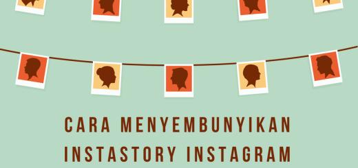 Cara menyembunyikan instastory instagram