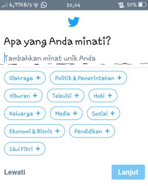 cara membuat aku twitter lewat hp, tutorial cara membuat akun twitter lewat hp