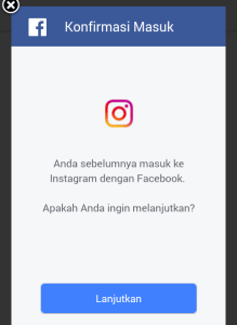 reset kata sandi instagram