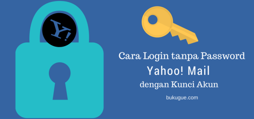 Kunci Akun Yahoo login tanpa password