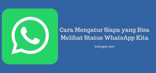 Cara Mengatur Siapa yang Bisa Melihat Status WhatsApp Kita