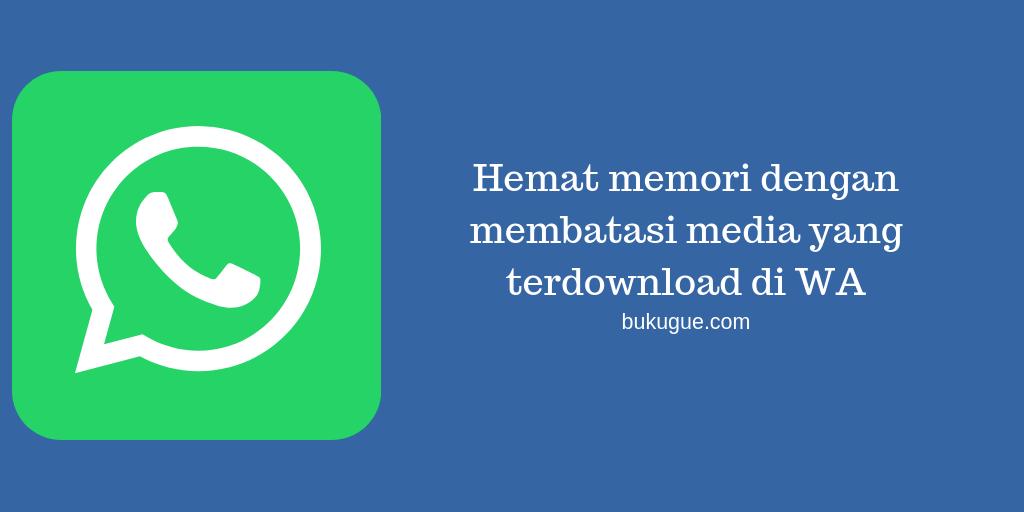 Cara agar tidak semua foto di Whatsapp otomatis masuk ke galeri