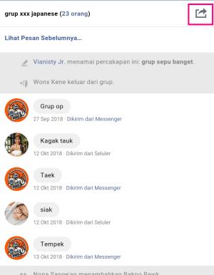 Percakapan dalam grup