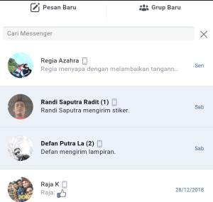 Laman pesan