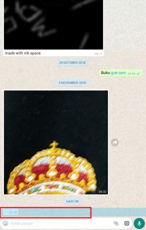 copy pesan text kosong dari teman kalian
