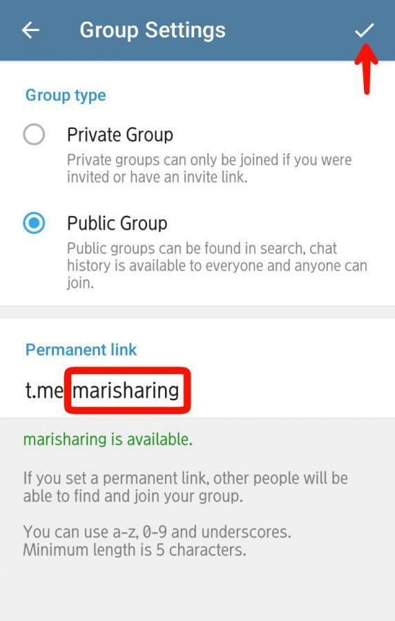 Cara buat dan setting group di Telegram