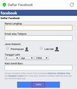 √ Cara membuat Facebook LEWAT HP (panduan cepat dan lengkap)