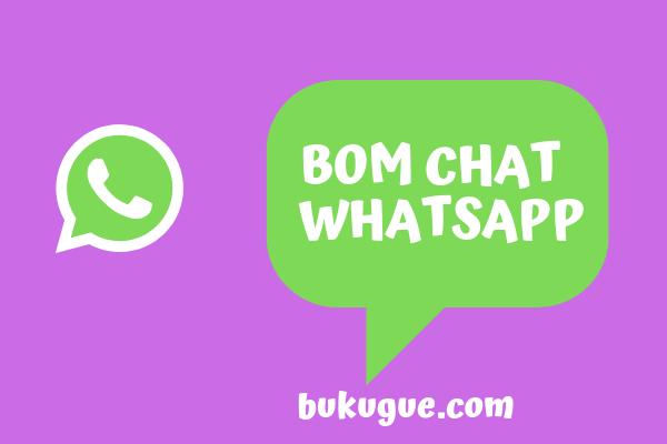 Cara nge-bom chat dan grup di whatsapp