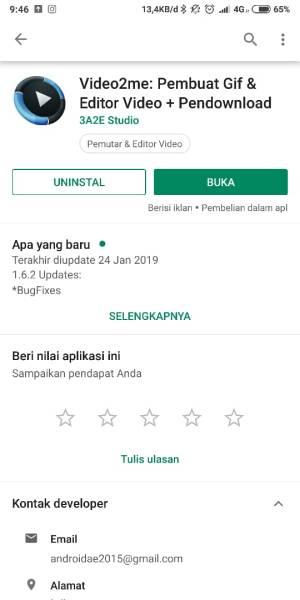 buka aplikasi video2me