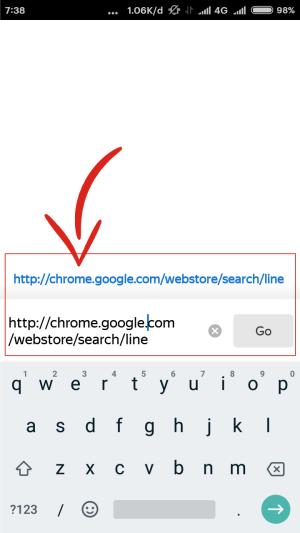 Cari ekstensi web Chrome di Yandex Browser.