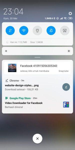 Video Otomatis Terdownload