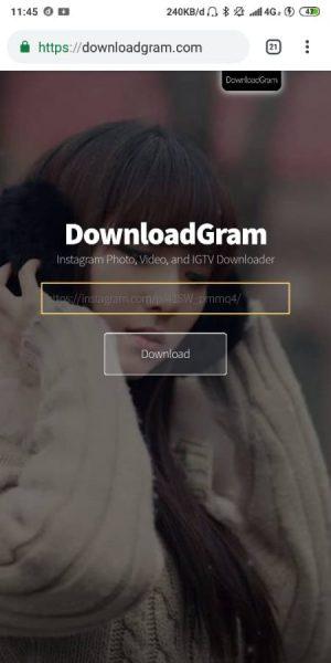 Buka Situs Downloadgram.com