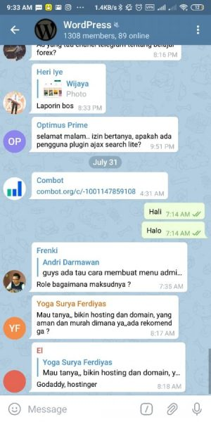 Group WordPress