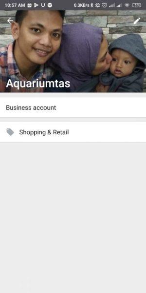 Halaman Profil Whatsapp Bisnis