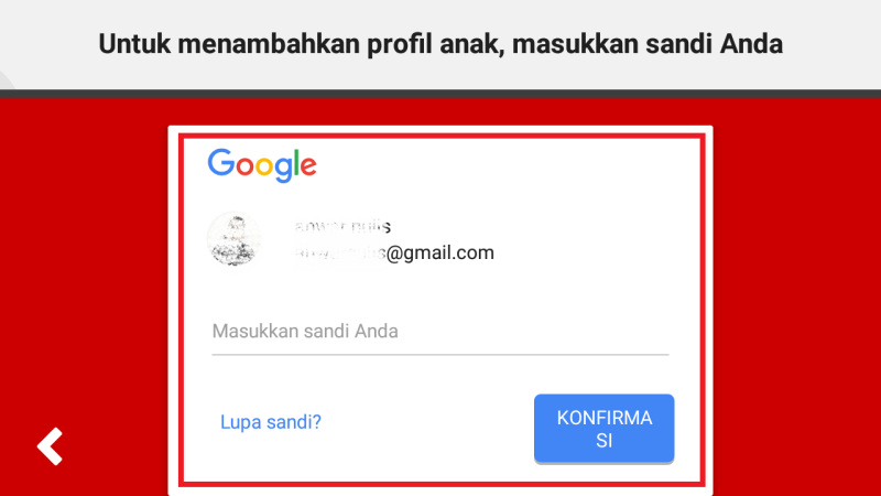 login ke akun google kalian