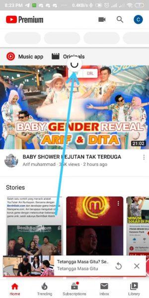 refresh youtube