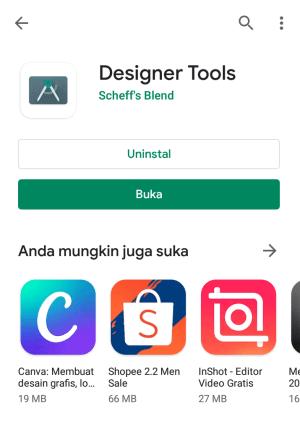 install designer tool