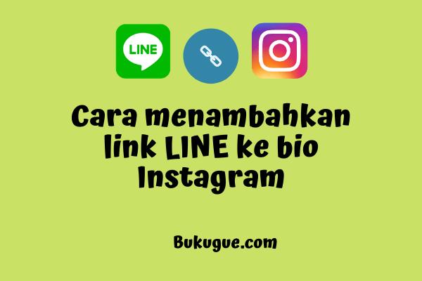 Cara menambahkan link LINE ke bio instagram