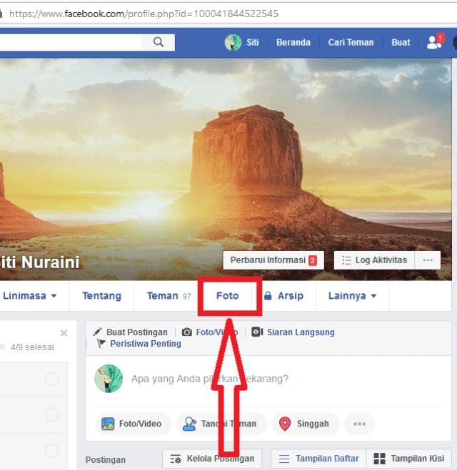 klik menu foto