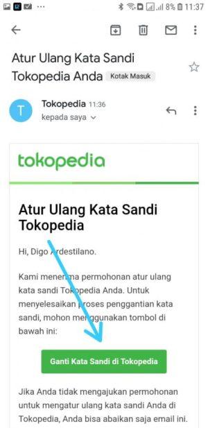 Email dari Tokopedia