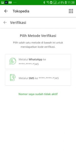 Verifikasi Login